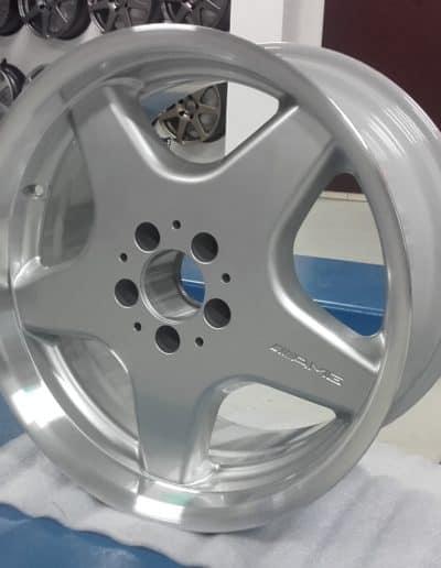 "felga 17"" Mercedes AMG Rant CNC"
