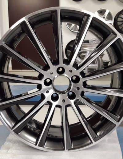 "19"" Mercedes AMG 5x112 chrome shadow + CNC"
