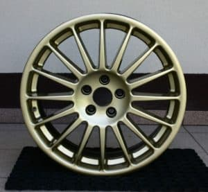 felgi aluminiowe - malowanie felg cena 1